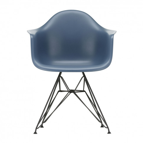 Dar Plastic Armchair Sea Blue & Dark