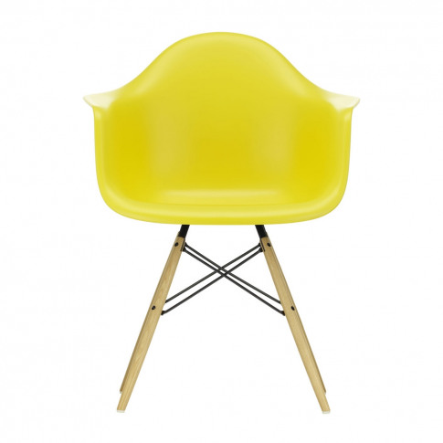 Daw Plastic Armchair Sunlight & Golden Maple