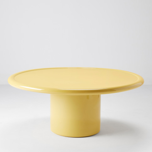 Mag Coffee Table In Yellow