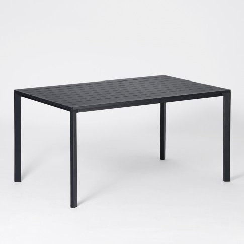Highline Outdoor Table In Black
