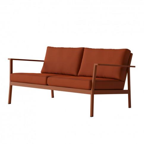 Eos 2-Seater Sofa In Rust