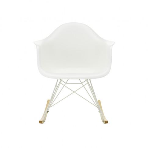 Rar Plastic Armchair In Granite Grey & White