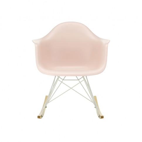 Rar Plastic Armchair In Pale Rose & White
