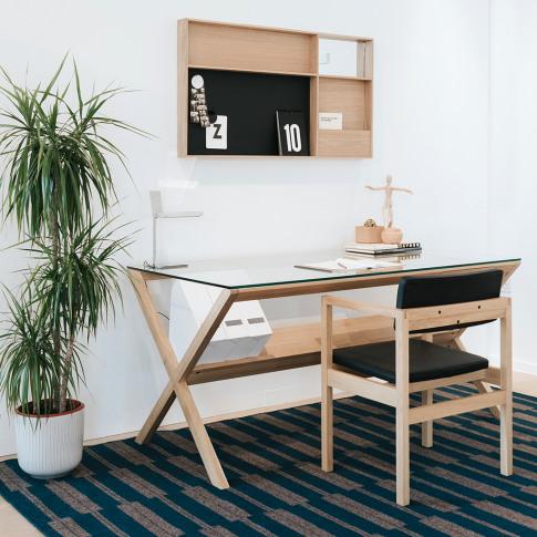 Covet Desk In Oak