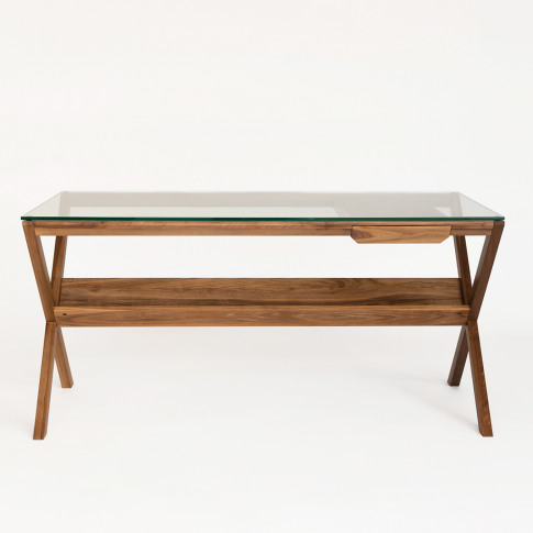 Covet Desk In Stained Walnut