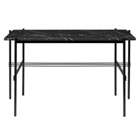 Ts Desk In Black Marquina Marble