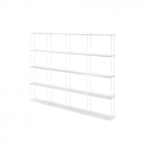 Krossing Shelving Unit 133 X 100cm White