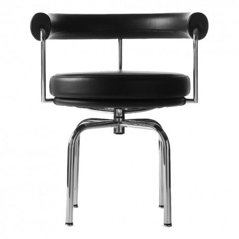 Lc7 Armchair Chrome & Black