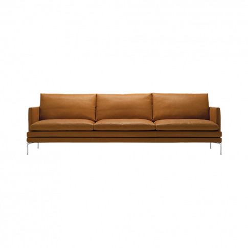 William Sofa Leather 3-Seater