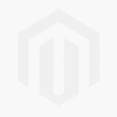 Tulip Side Table Satin Arabescato Marble & White Base 51cm