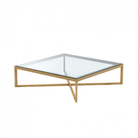 Krusin Coffee Table Oak & Glass Top