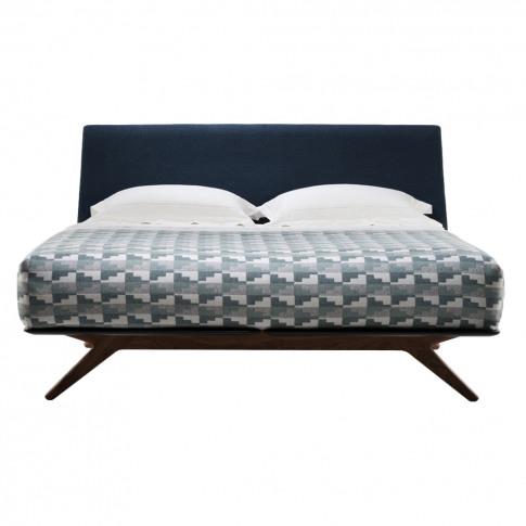 Hepburn Bed Walnut Queen Size