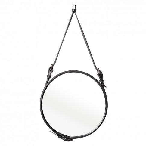 Adnet Mirror Black 45cm