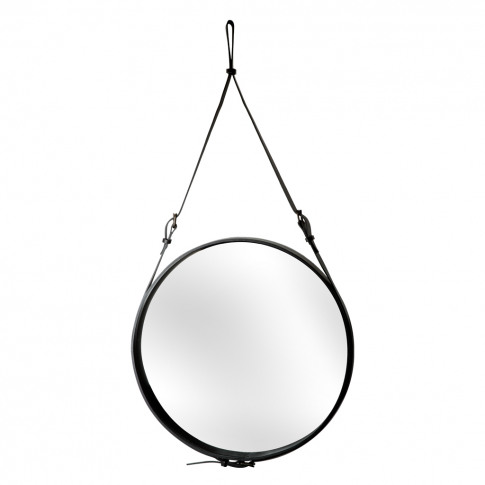 Adnet Mirror Black 70cm