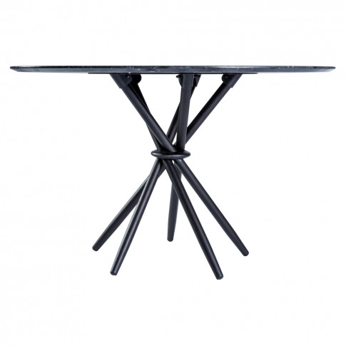 Stix Dining Table In Marquina Marble