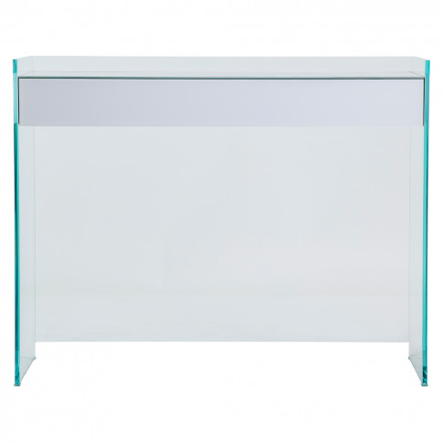 Float Console Table White
