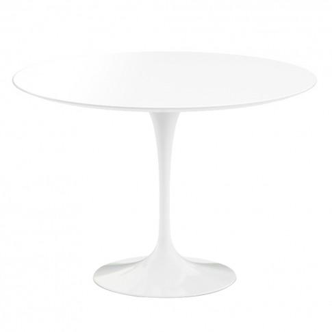 Tulip Outdoor Table White 107cm