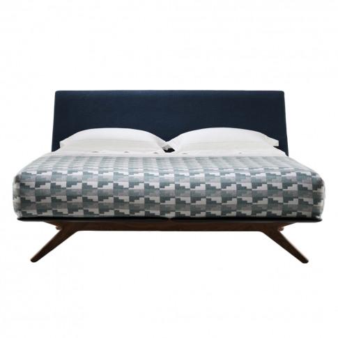 Hepburn Bed Walnut Super King Size