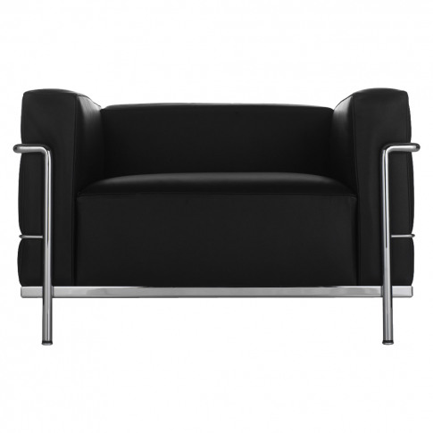 Lc3 Armchair Chrome & Black