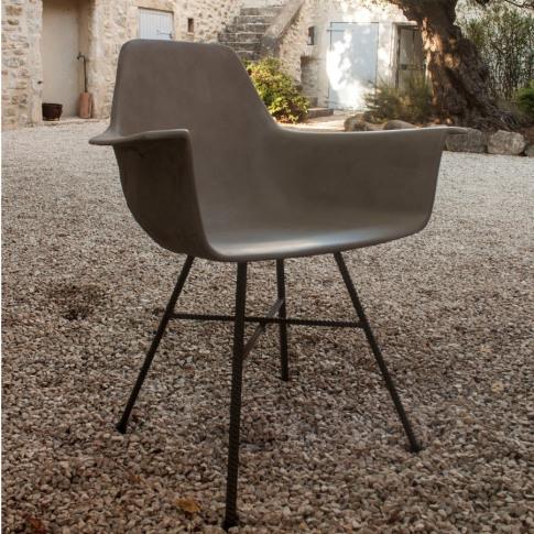 Hauteville Concrete Armchair