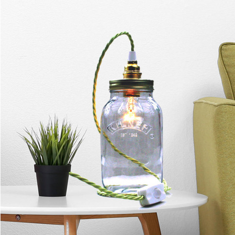 Bespoke Kilner Jar Table Lamp