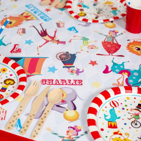 Personalised Circus Table Runner