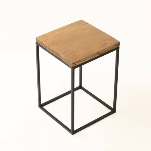 Rectangular Wooden Side Table
