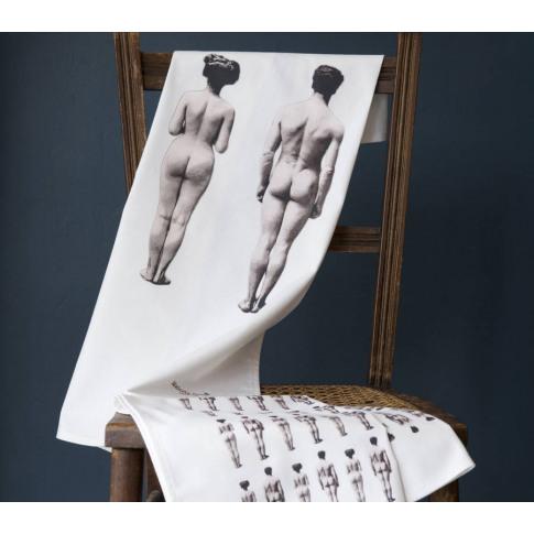 The Models Set Of Two Tea Towels