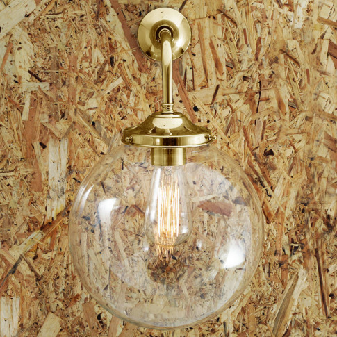 Bamako Globe Wall Light