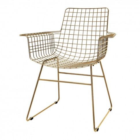 Wire Armchair In Three Colours