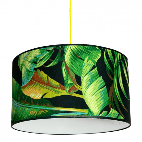 Tropical Midnight Palms Lampshade