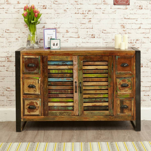Shoreditch Six Drawer Two Door Sideboard