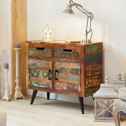 Dunes Boat Wood Sideboard