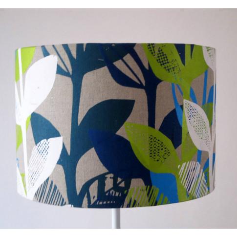 Jungle Leaf Printed Lampshade