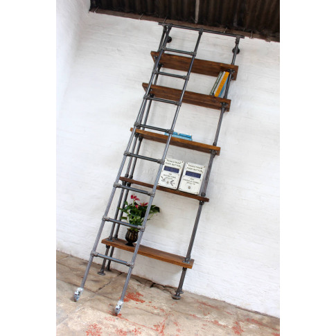 Brooklyn Handmade Reclaimed Scaffolding Boards Bookcase