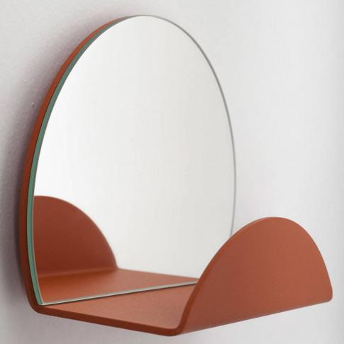 Coat Hook Shelf And Wall Mirror
