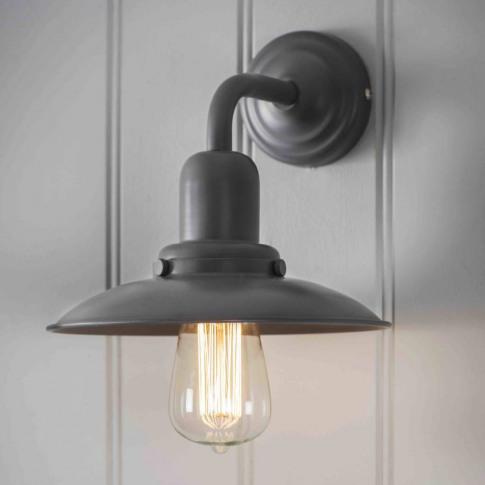 Charcoal Grey Wall Light