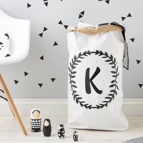 Personalised Laurel Children's Storage Sack
