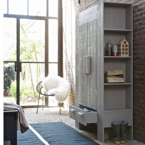 Hidde Chunky Storage Cabinet With Shelves