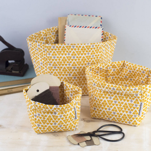 Suits Set Of Three Storage Boxes