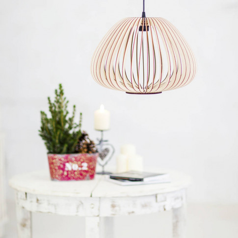 Tulip Wooden Lampshade, Ceiling Lights