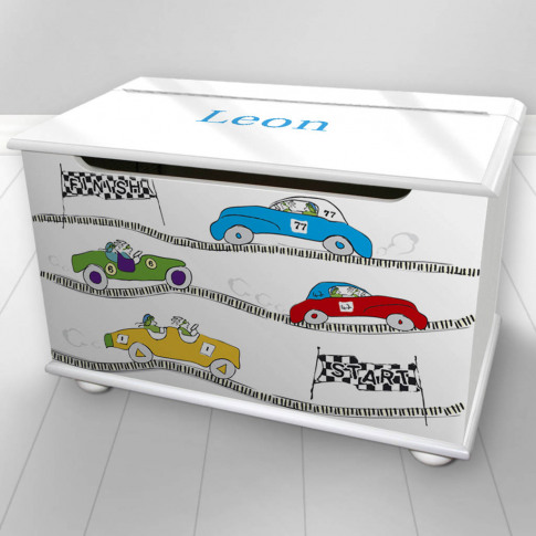 Toy Box Personalised Cars Design