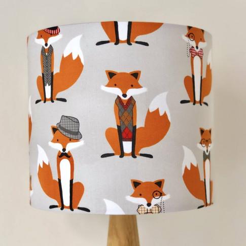 The Dapper Fox Lampshade