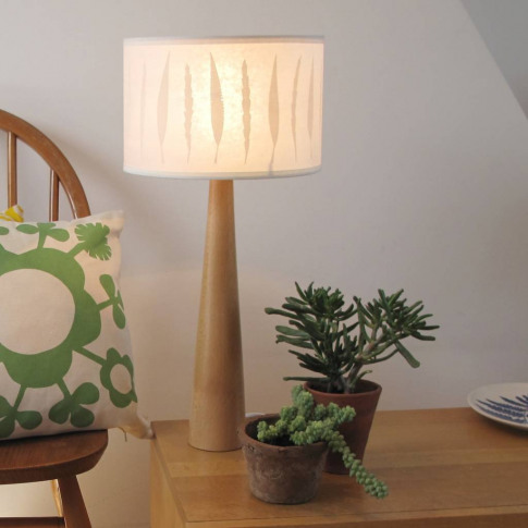 Autumn Leaf Drum Lampshade
