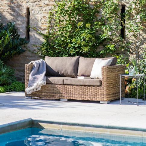 All Weather Rattan Sofa