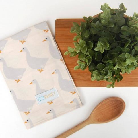 Geese Tea Towel