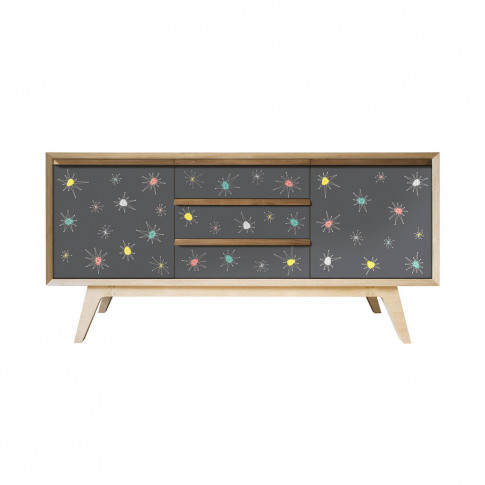 'Atomic' Hand Made Sideboard