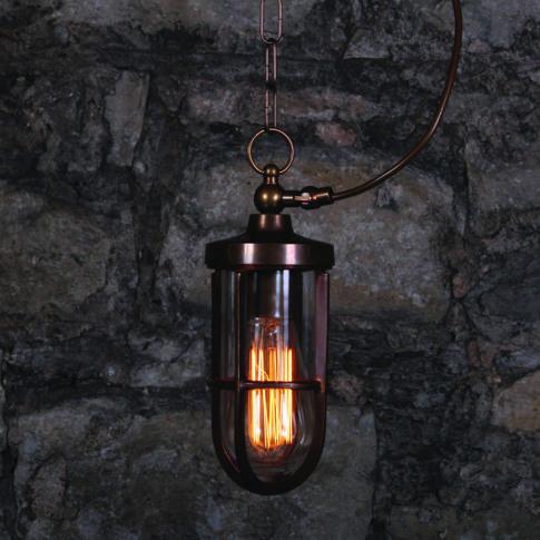 Oregon A Well Glass Pendant Light