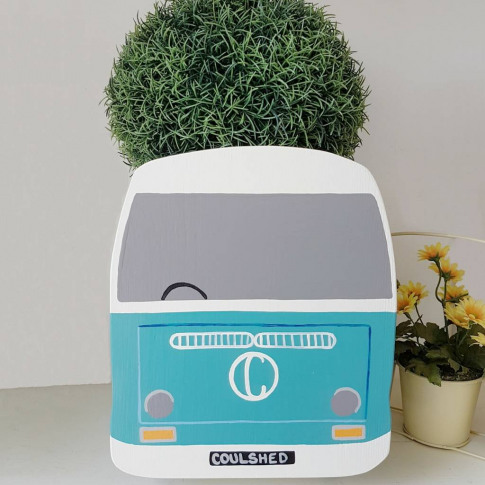 Personalised Campervan Mini Planter