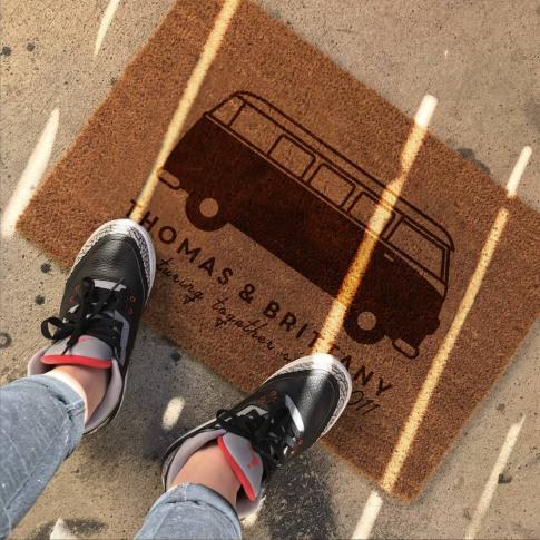 Personalised Campervan Doormat